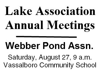 Lake Association Annual Meeting