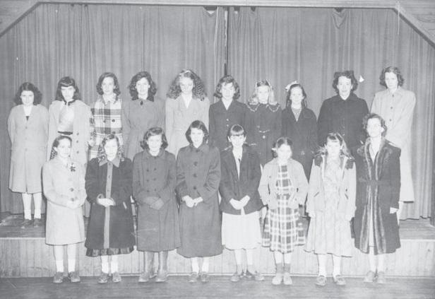 Jefferson 4-H girls