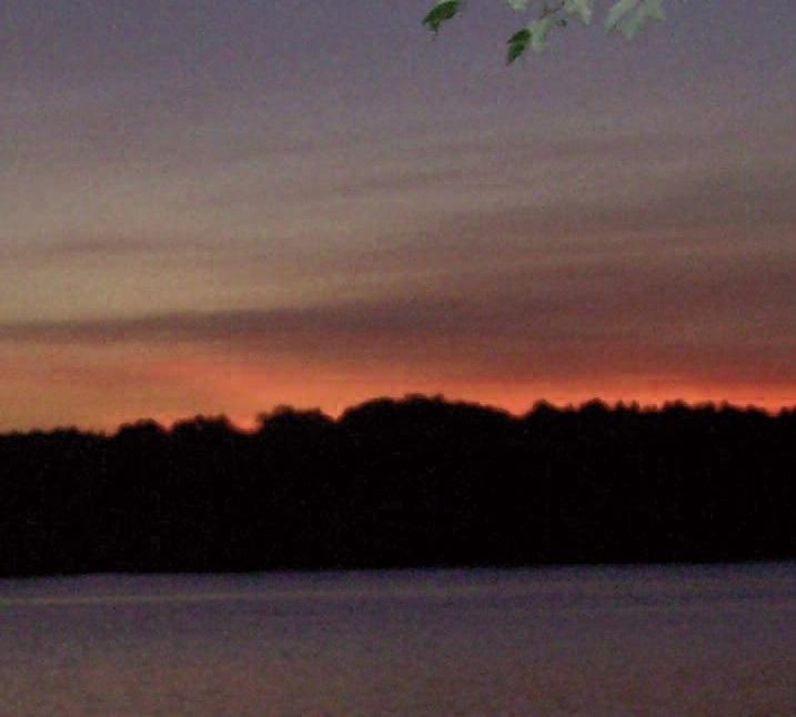 SUNSET ON CHINA: Michael Bilinsky, of China Village, captured this recent sunset over China Lake.