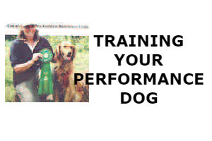 TRAINING YOUR PERFORMANCE DOG
