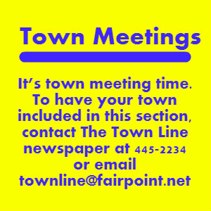 Notice Town Meetings