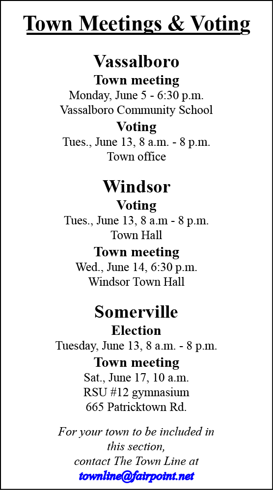 TOWN MEETING SCHEDULED