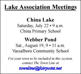 LAKE ASSOCIATION MEETINGS
