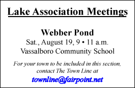 LAKE ASSOCIATION MEETINGS