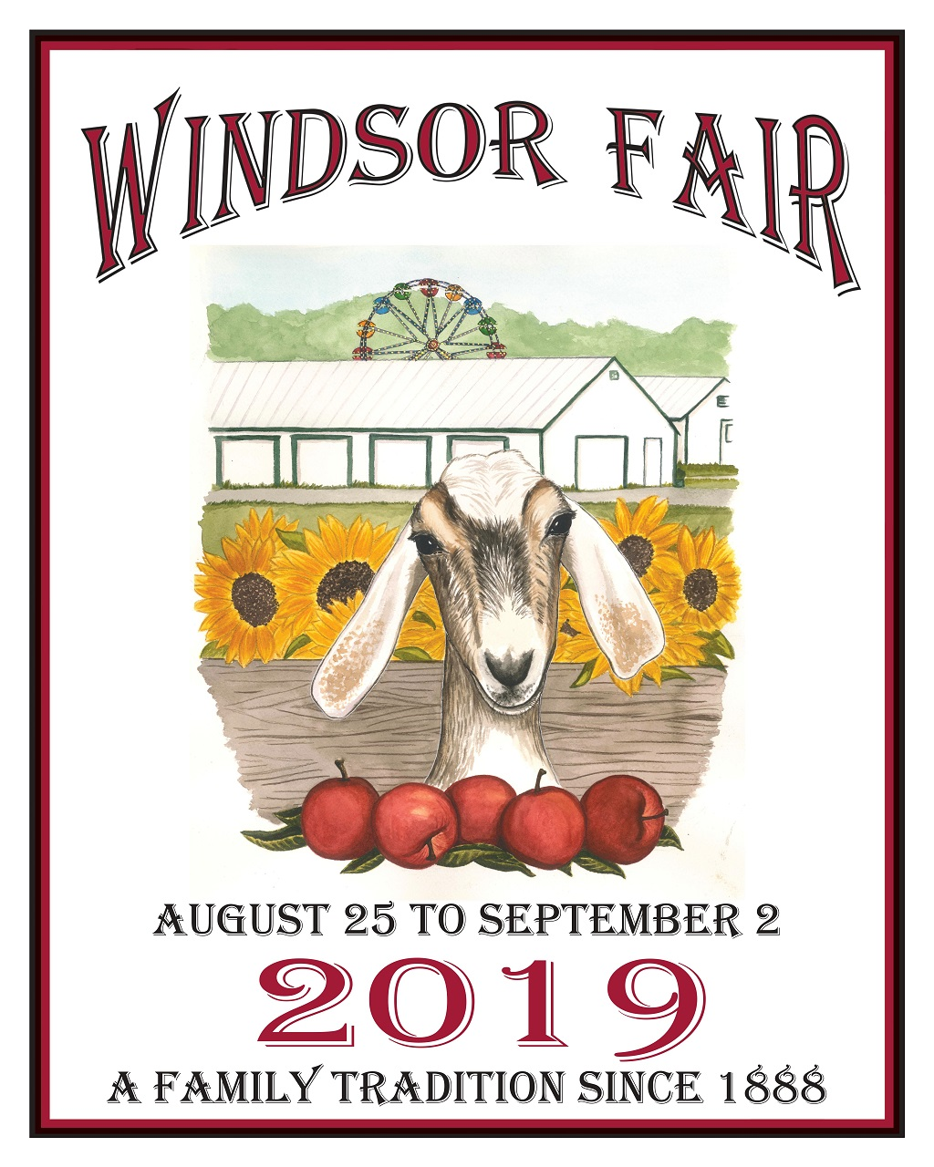 Windsor Fair 2019 Quot Schedule Of Events Quot The Town Line