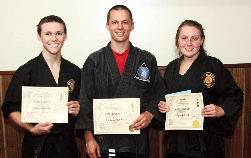 Huard's Martial Arts students