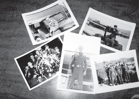 Photos of Milt Huntington in Korea in 1953. Photos courtesy of Milt Huntington