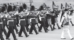 The Band of His Majestry's Irish Guards